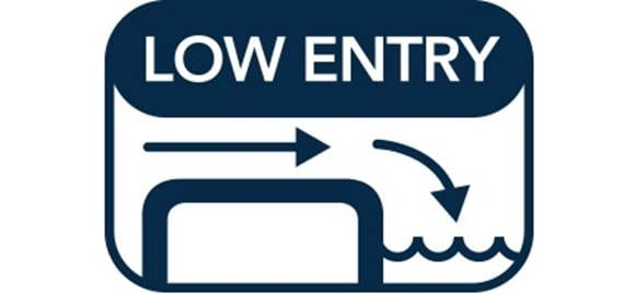 Low Entry Icon