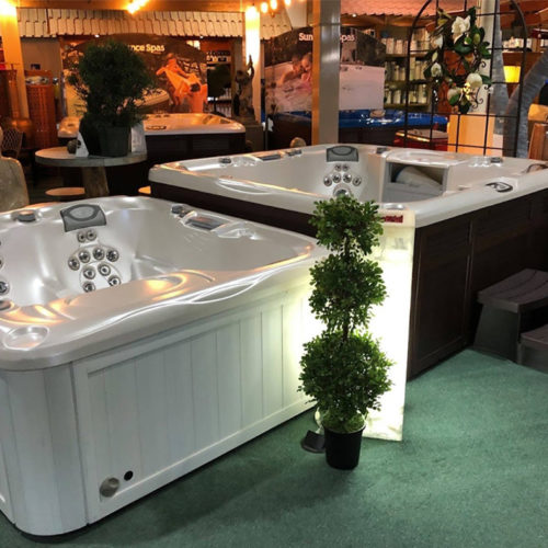 Hot Tub Set Up